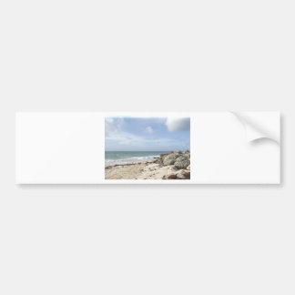 Rocky Beach at Port Lucaya, Freeport, Bahamas Bumper Sticker