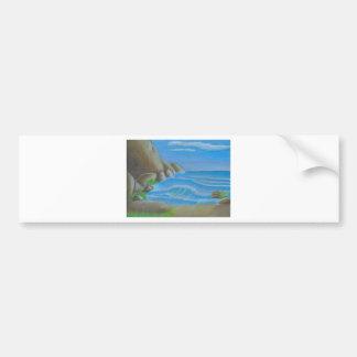 Rocky beach bumper stickers