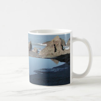 Rocky Beach. Scenic Coastal View. Coffee Mug