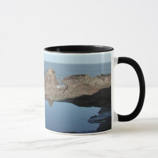 Rocky Beach. Scenic Coastal View. Mug
