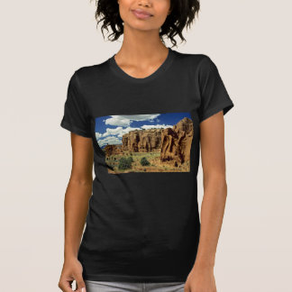 Rocky cliffs, Red Canyon, Utah rock formation Tee Shirts