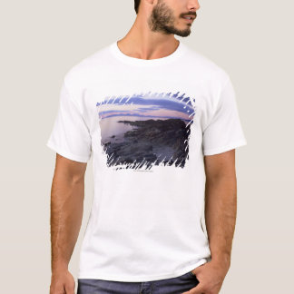 Rocky Coast at Sunset in Kintyre, Argyll, Scotland T-Shirt