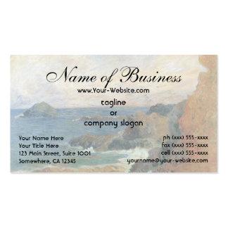 Rocky Coast by Paul Gauguin Business Card Templates