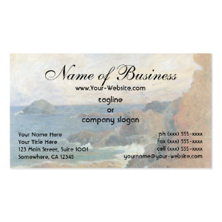 Rocky Coast by Paul Gauguin Pack Of Standard Business Cards