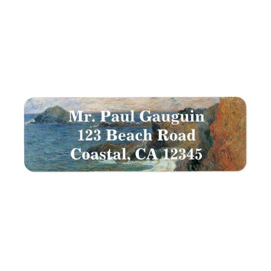 Rocky Coast by Paul Gauguin, Vintage Impressionism