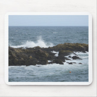 Rocky Coast in York Maine Mousepads