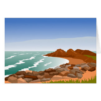 Rocky Coast Note Cards