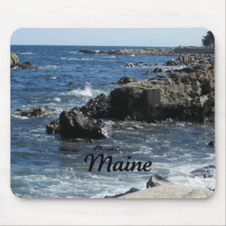 Rocky coast of Maine Mouse Pad