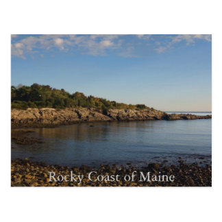 Rocky Coast of Maine  Postcard