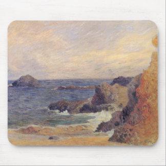 Rocky Coast - Paul Gauguin Mouse Pad
