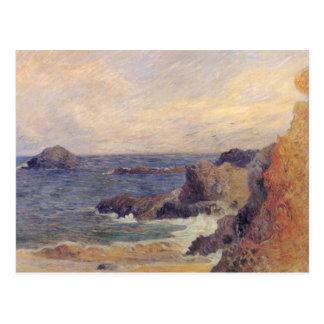 Rocky Coast - Paul Gauguin Postcard