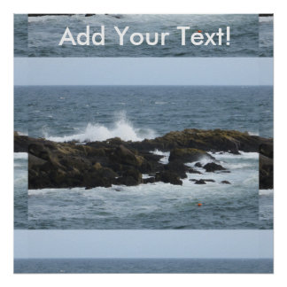 Rocky Coast York Maine Poster