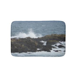Rocky Coast York Maine Bath Mats