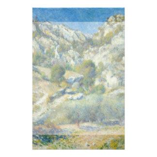 Rocky Crags at L'Estaque by Pierre-Auguste Renoir Flyers