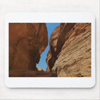 Rocky desert canyon. mouse mat
