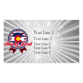 Rocky Ford, CO Business Card