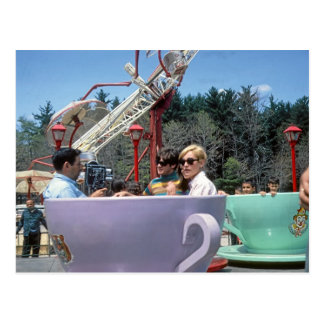 Rocky Glen Amusement Park Moosic Pa. Postcard