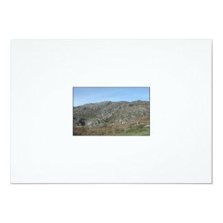 Rocky Hills Near Dursey Head. Ireland. 13 Cm X 18 Cm Invitation Card