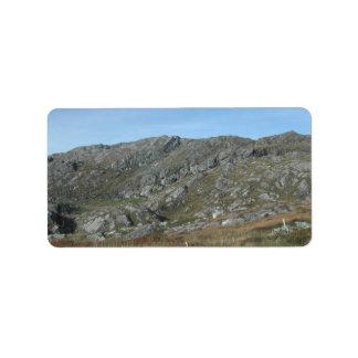 Rocky Hills Near Dursey Head. Ireland. Address Label