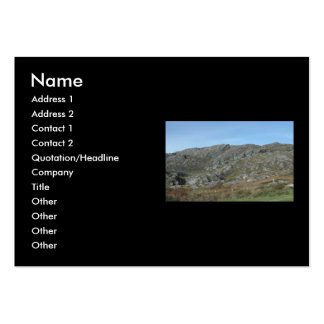 Rocky Hills Near Dursey Head. Ireland. Business Card Templates