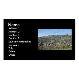 Rocky Hills Near Dursey Head Ireland Business Card Template