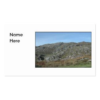 Rocky Hills Near Dursey Head. Ireland. Business Card Template