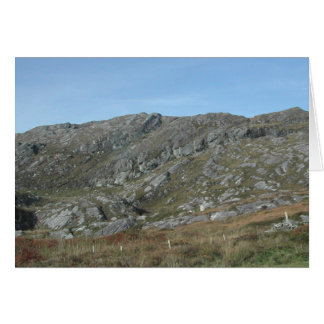 Rocky Hills Near Dursey Head. Ireland. Greeting Card