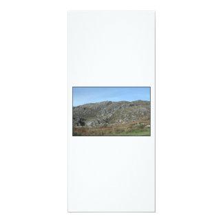 "Rocky Hills Near Dursey Head. Ireland. 4"" X 9.25"" Invitation Card"