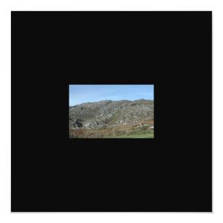 "Rocky Hills Near Dursey Head. Ireland. 5.25"" Square Invitation Card"