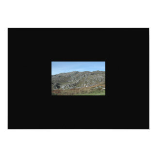 "Rocky Hills Near Dursey Head. Ireland. 5"" X 7"" Invitation Card"