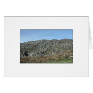 Rocky Hills Near Dursey Head. Ireland. Note Card