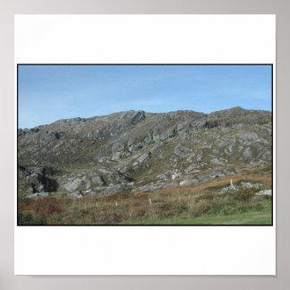 Rocky Hills Near Dursey Head Ireland Print
