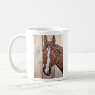 Rocky Horse Collage mug