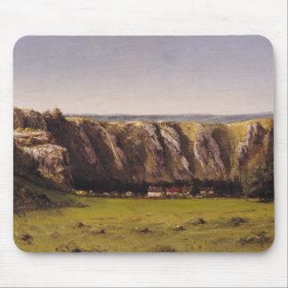 Rocky landscape near Flagey Mouse Pad