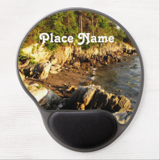 Rocky Maine Coast Gel Mouse Pad