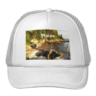 Rocky Maine Coast Mesh Hats