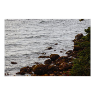 Rocky Maine Coast Photo Poster