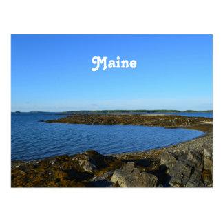 Rocky Maine Coast Postcard