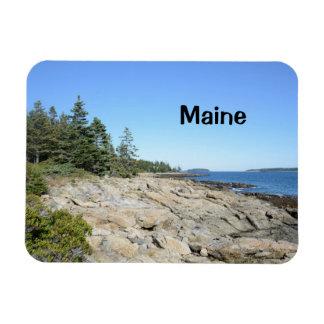 rocky Maine coast Magnet