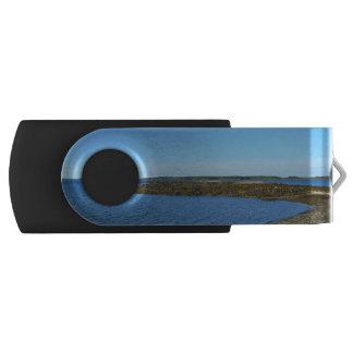 Rocky Maine Coast Swivel USB 2.0 Flash Drive