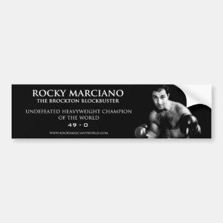 Rocky Marciano Bumper Sticker