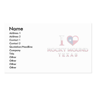 Rocky Mound �, Texas Business Cards