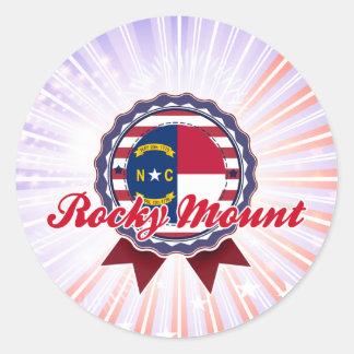 Rocky Mount, NC Round Sticker