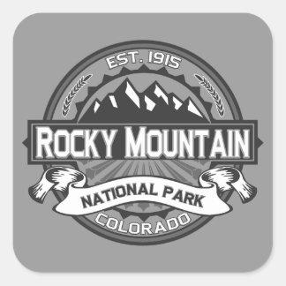 Rocky Mountain Ansel Adams Square Sticker