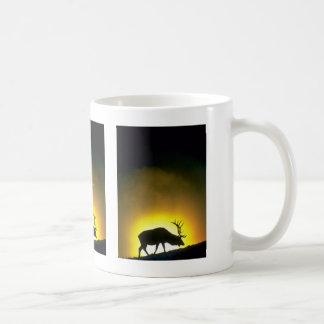 Rocky Mountain bull elk, Yellowstone National Park Coffee Mugs