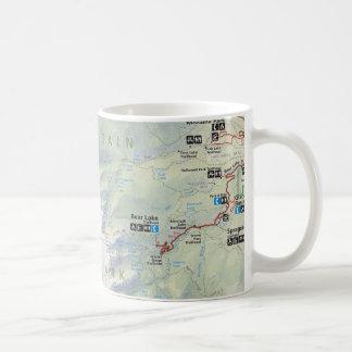 Rocky Mountain (Colorado) map mug