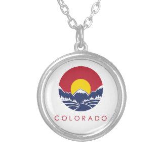 Rocky Mountain Colorado Sunset Logo Pendants