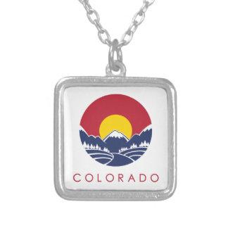 Rocky Mountain Colorado Sunset Logo Custom Jewelry