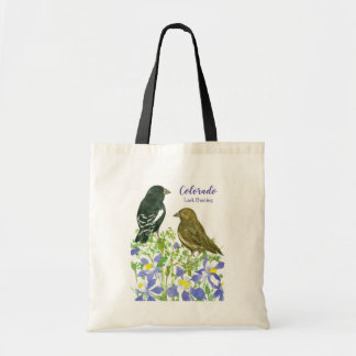 Rocky Mountain Columbine Colorado State Flower Tote Bag