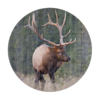 Rocky Mountain Elk Cutting Board